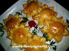 شميسة رووعة بالخضر والجبن للأخت أم ضياء الطريقة في الرابط: http://www.halawiyat-malika.com/2016/07/blog-post_23.html