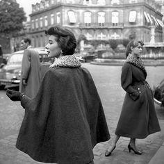 Bettina and Brigitte Bardot by George Dambier, Paris 1954.
