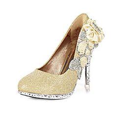 Women's Wedding Shoes Heels/Round Toe Heels Wedding/Party & ... – USD $ 27.99