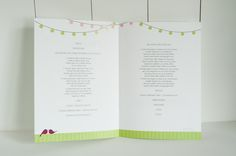 60x+Kirchenheft+für+Hochzeit+»Lovebirds«++von+Schneider's+Family+Business+auf+DaWanda.com
