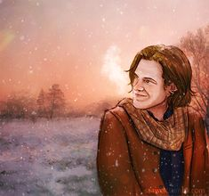 It was snowing today in my town :) and made me want to draw Sam… Snow Today, My Town, Mona Lisa, Drawings, Winter, Artwork, Painting, Winter Time, Work Of Art