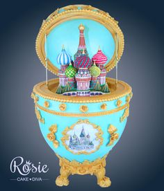 My Fave Faberge Egg Cake Ever - by Rosie Cake Diva on CakesDecor - http://cakesdecor.com/cakes/156286-faberge-egg-cake