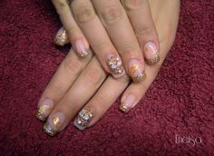 bridal nails art