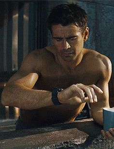 "Colin Farrell I just love him in ""action""."