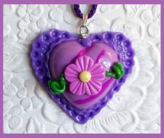 Heart Pendant by RFColorfulCreations