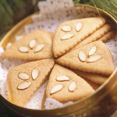 Scandinavian spice cookies are perfect with a fresh brewed cup of coffee.