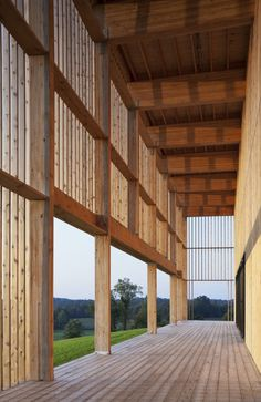 Won Dharma Center, near Hudson, NY / hanrahanMeyers architects. Not a HOUSE, strictly speaking, but this is some beautifully done wood construction.