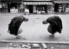 Postcards Zen Monks, Kyoto, Japan, 1961, René BURRI - Nouvelles Images