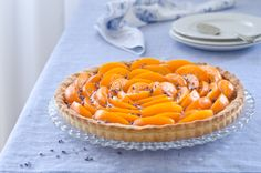 Apricot and lavender