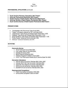 scannable resume samples
