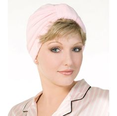 Everyday Terry Turban - Everyday Terry Turban is quick cover-up magic. 100% cotton, machine washable. Find this style & more @ thewigcompany.com