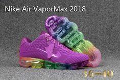 online retailer e812c 9950b Nike 2018 Nike air Vapor MAX 2018 KPU Running Women Purple Rainbow 36-40