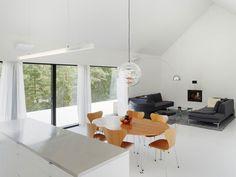 Lounge in Minimalist Villa Wallin