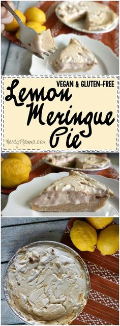 Wow. This is an easy recipe I think I could actually make...I mean, Eggless, Dairy-free, Gluten-free and just perfect Lemon Meringue Pie with the vegan crowd I love this so much.