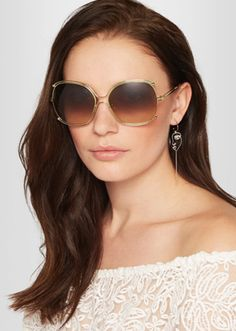 db3a87893e The 3 Sunglasses Trends for Fall 2017 To Try Out Now