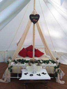 Bell tent love nest