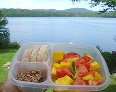 Lake House Mango and Tomato Salad Lunch