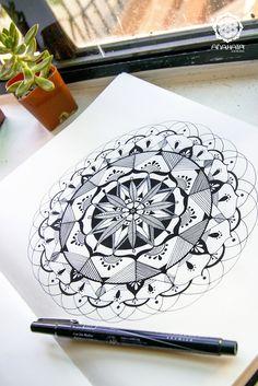 Mandalas: Mapas del universo interior. Revelador, no?  C.V.