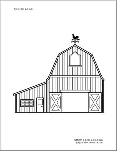 How To Draw A Barn House And Fence Step 5 Active Faith Barn