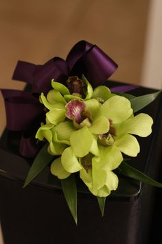 Want a green orchid corsage sooo bad! Green Orchid, Green And Purple, Shades Of Green, Prom Flowers, Flower Dresses, Wedding Flowers, Plan My Wedding, Wedding Stuff, Wedding Ideas