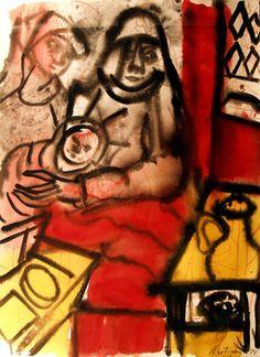 Grace Hartigan, 'New York City Rhapsody', 1960, Denver Art Museum   Artsy