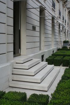 37 Ideas For Concrete Stairs Exterior Garden Steps Outside Stairs, Front Stairs, Entry Stairs, Exterior Stairs, Tiny House Stairs, Outdoor Steps, Garden Stairs, Concrete Stairs, Concrete Porch