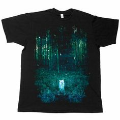 Night Vision on Black Fine Jersey Slim Fit by Brand New on Wanelo