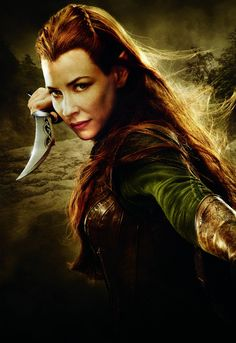 Evangeline Lilly as Tauriel - The Hobbit: The Desolation of Smaug
