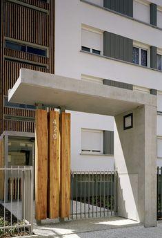 Réhabilitation et résidentialisation de 80 logements - Aménagement des espaces extérieurs | gautier_conquet