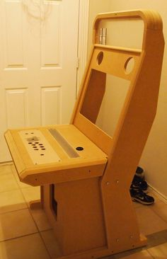 Build a Japanese Vewlix style sit-down arcade cabinet | Vewlix ...