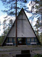 Siunauskappeli Taivalkoski. KirjastoVirma