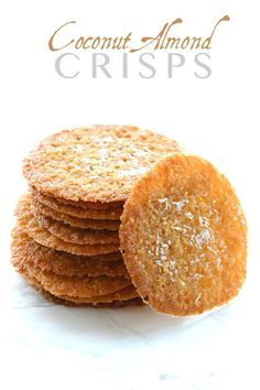 These thin and crispy coconut almond cookies are a delicious low carb, grain-free treat. Perfect with morning coffee, afternoon tea or as dessert. This post is sponsored by Bob's Red Mill. As…