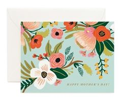Pastel Mother's Day cards designed by Anna Bond for Rifle Paper Co. at Northlight
