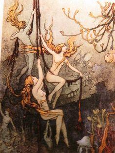 Sea Nymphs by Goble Warwick 1920 by DALAIWMN, via Flickr