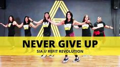Try our routine to Never Give Up by Sia. This routine is perfect for your warm-up before doing more intense moves. Cardio Party Mashup combines dance and tra. Zumba Workout Videos, Zumba Videos, Exercise Videos, Dance Videos, Jennifer Lopez, Refit Revolution, Zumba Routines, Fit Girl Motivation, I Work Out