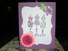 I Like Your Style Birthday card...using Stampin Up products