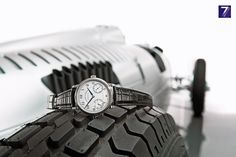 A. Lange & Sohne - White gold and Silver Arrow 1815 UPDOWN and Auto Union racing car Type C  ALS 234 026 Rennwagen Typ C M Reference: 234.026