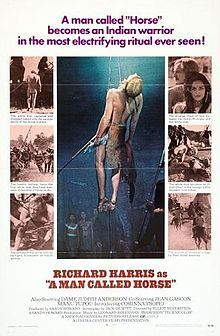Richard Harris is John Morgan, Englishman captured by Sioux Natives and made to endure their initiation rituals.
