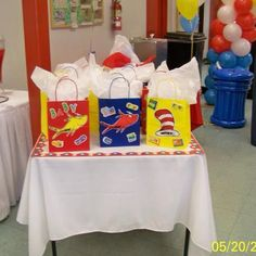 seuss baby shower on pinterest door prizes thing 1 and napkin rings
