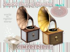 's Granny's Greatest Hits - Stereo The Sims 4 Pc, Sims 4 Mm, Sims 4 Decades Challenge, 1940s Decor, Sims Packs, Sims House Design, Play Sims, Sims 4 Build, Beach Essentials