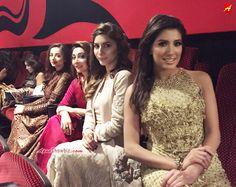 """Beautiful 'Jawani Phir Nahi Ani"""" girls; Mehwish Hayat, Uzma Khan, Ayesha Khan & Sarwat Gilani @ Dubai Premiere  #JPNA"""