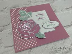 The Craft Spa - Stampin' Up! UK independent demonstrator : You guessed it... Sweet Sugarplum new In Colour today....