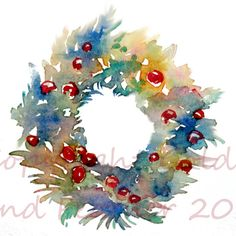 Christmas Wreath Holiday Clip Art Commercial Use