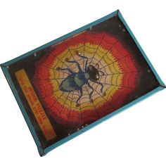 Spider Halloween Dexterity Puzzle Game Vintage 1930's Toy Handheld BB  $35 http://www.rubylane.com/item/1208760-CO71/Spider-Halloween-Dex78terity-Puzzle-Game-Vintage