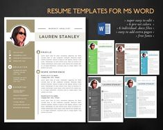 Resume Icons For Ms Office By Inkpower On Creative Market