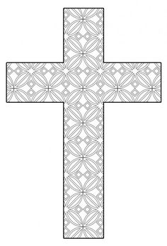 Cross Coloring Page Printable Elegant Free Printable Cross Coloring Pages Cross Coloring Page, Coloring Pages To Print, Free Printable Coloring Pages, Coloring Book Pages, Coloring Pages For Kids, Coloring Sheets, Easter Colouring, Christian Crafts, Kirchen