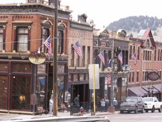 Cripple Creek, CO also has a lot of casinos. Biggest Gold mining history in Colorado~