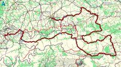 Route fietsvakantie Zwitserland, Oostenrijk, Slovenië en Duitsland
