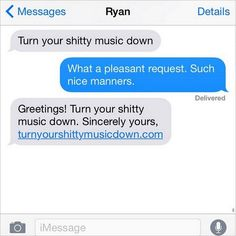 25 Hilarious Texts Between Neighbors - It pays to be polite.
