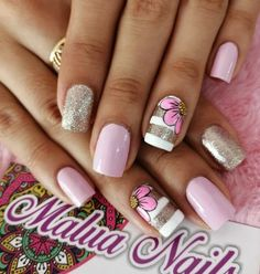Fails Design Ideas Pastel 30 Ideas For 2019 Sexy Nail Art, Sexy Nails, Fancy Nails, Toe Nail Art, Pink Nails, Cute Nails, Pretty Nails, Toenail Art Designs, Fingernail Designs